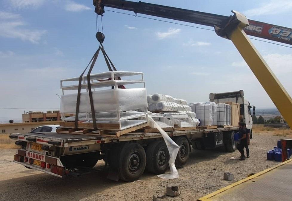صادرات تونل های ضدعفونی کننده به خاورمیانه فراوری شده در پارک علم و فناوری البرز شروع شد