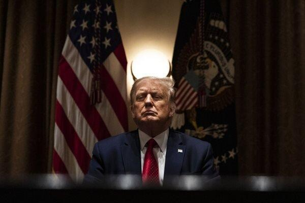 ترامپ باردیگر معترضان ضد نژادپرستی را آشوبگر خواند