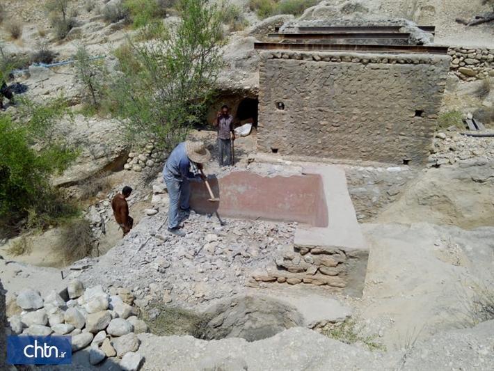 پاک سازی تأسیسات الحاقی دره تاریخی لیر سیراف آغاز شد