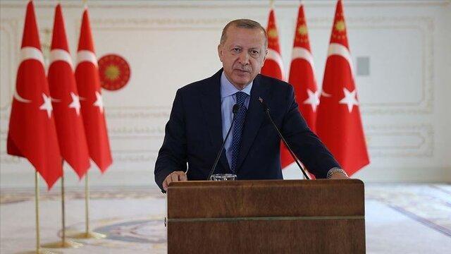اردوغان: به خاک و منابع طبیعی هیچ کشوری چشم ندوخته ایم