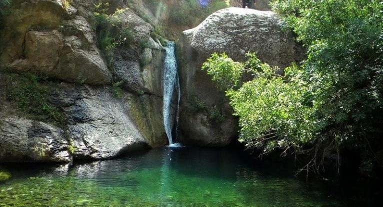 آبشار هشترخان در راستا گردشگری زنجان ـ طارم
