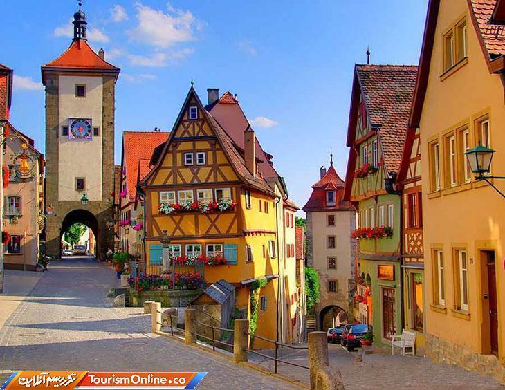 ترکیبی از تاریخ و افسانه در روستای زیبای روتنبرگ، تصاویر