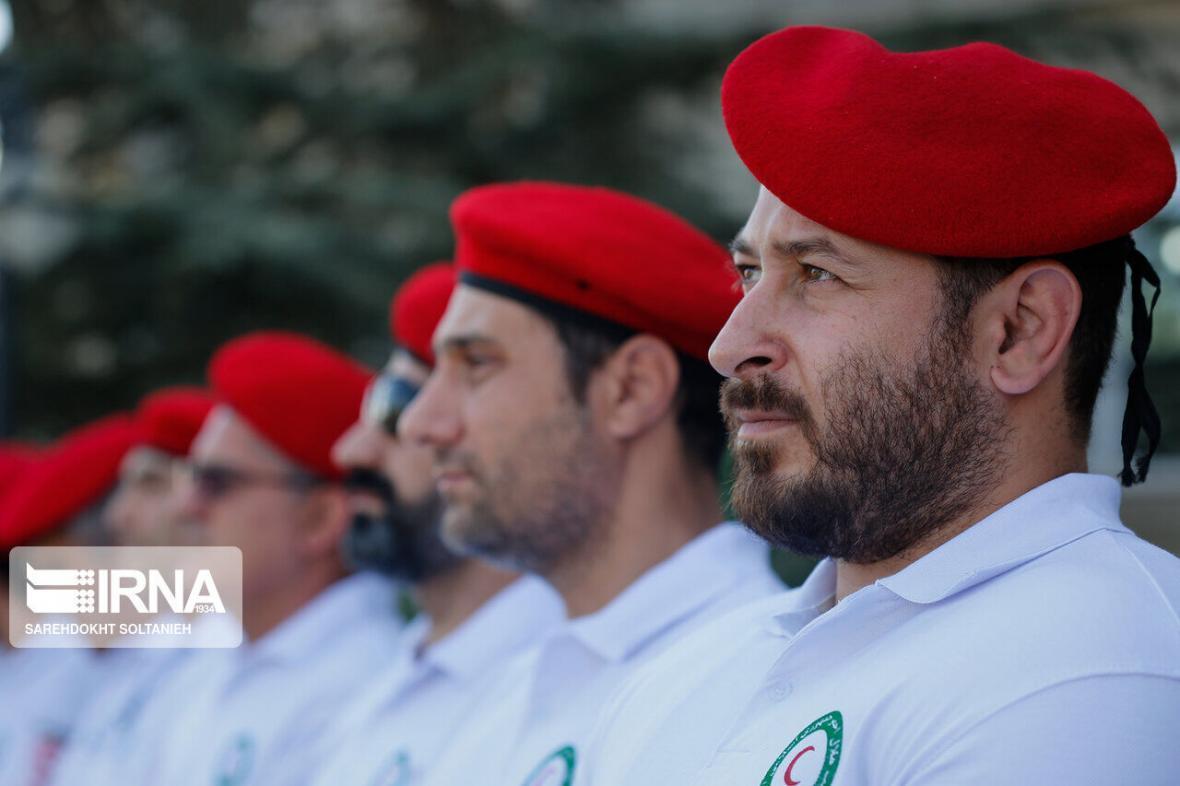 خبرنگاران اعزام 2 گروه ارزیاب هلال احمر به منطقه زلزله زده هجدک