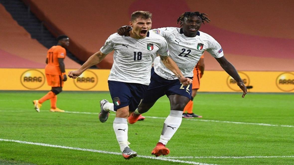 لیگ ملت های فوتبال اروپا، هلند در خانه به ایتالیا باخت