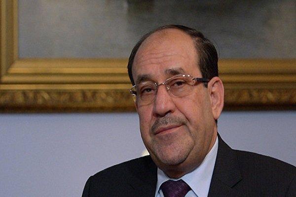 واکنش نوری المالکی به طرح موضوع انحلال مجلس عراق