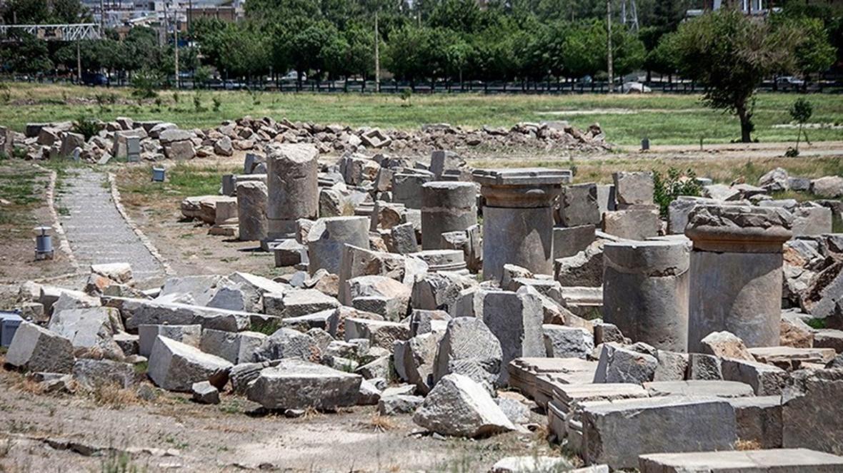 تصاویری دیدنی از دومین بنای بزرگ سنگی ایران