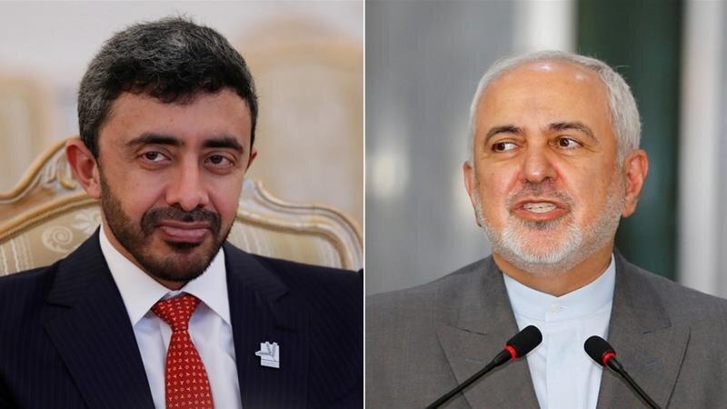 الجزیره گفتگوی ظریف با وزیر خارجه امارات را کم سابقه خواند