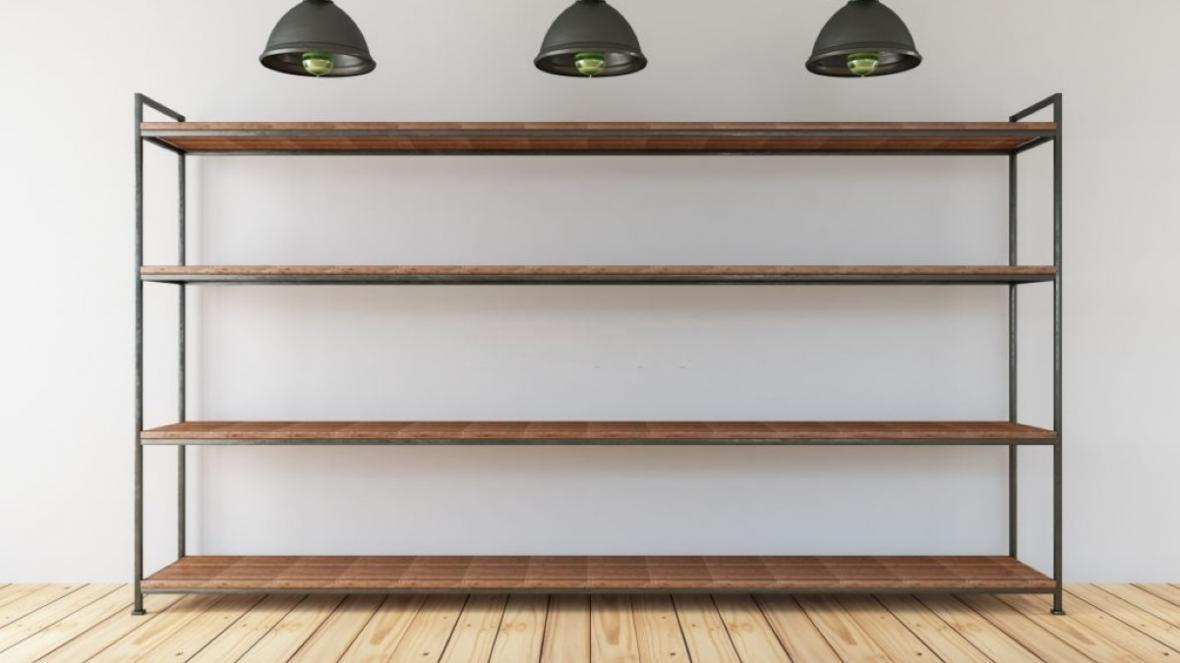 آشنایی با انواع مدل کتابخانه فلزی خانگی با چند ایده بسیار جذاب