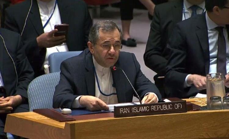 واکنش نماینده ایران به شکست آمریکا در شورای امنیت