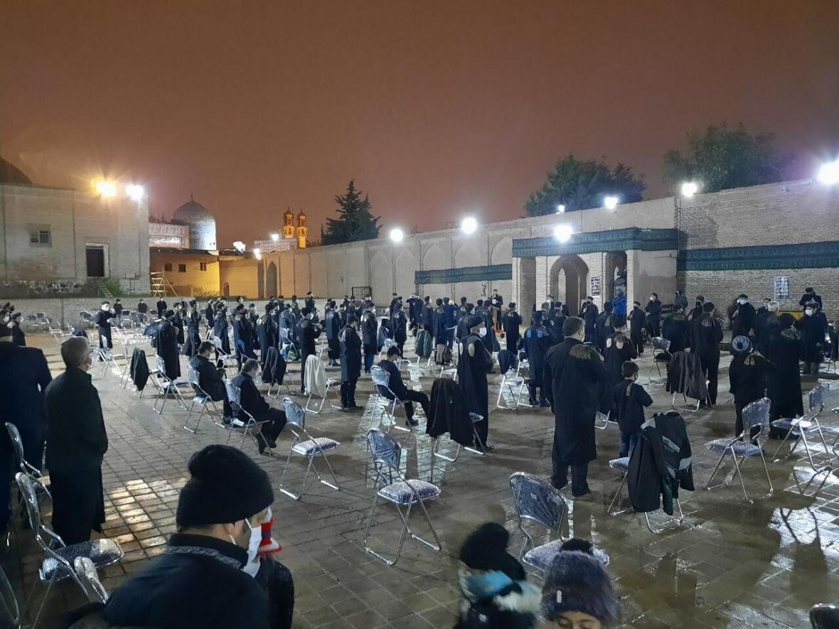 خبرنگاران شعور حسینی در عزاداری های محرم استان اردبیل