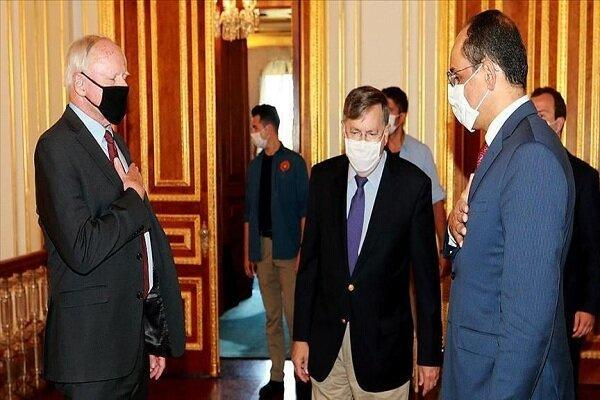 کالین با نماینده ویژه آمریکا در امور سوریه ملاقات کرد