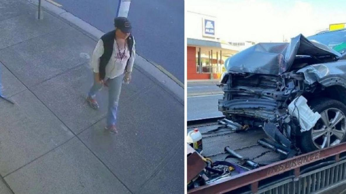 خوش شانسی فروشنده حین وقوع تصادف شدید!