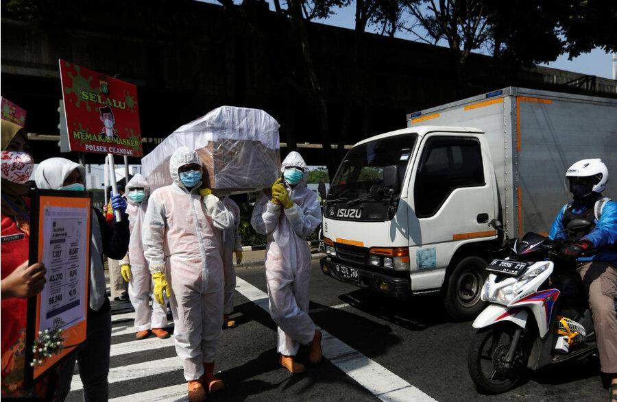 یک گونه جهش یافته واگیرتر ویروس کرونا در اندونزی یافت شد