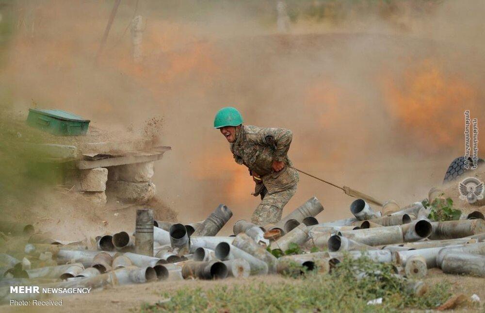 باکو اطلاع داد: درگیری های قره باغ به کشته شدن 41 غیرنظامی و 205 زخمی رسید