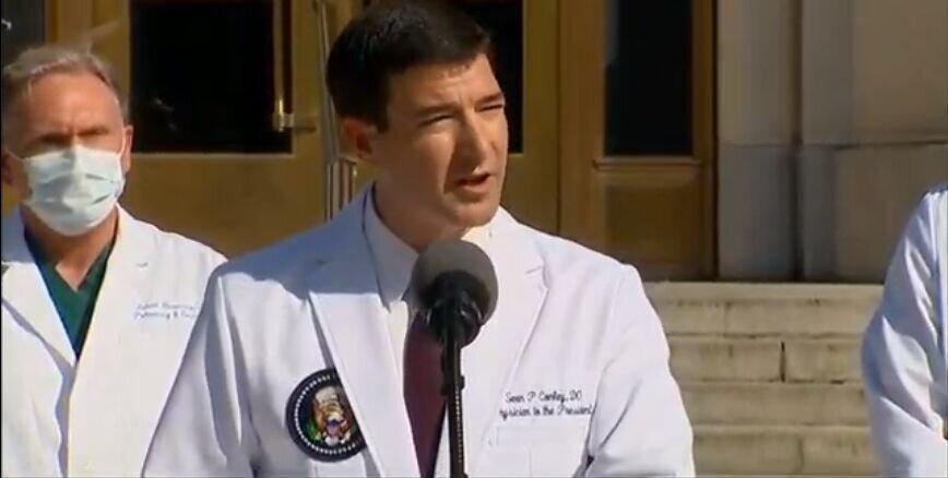 کانلی درباره نحوه درمان ترامپ پس از ترخیص توضیح داد