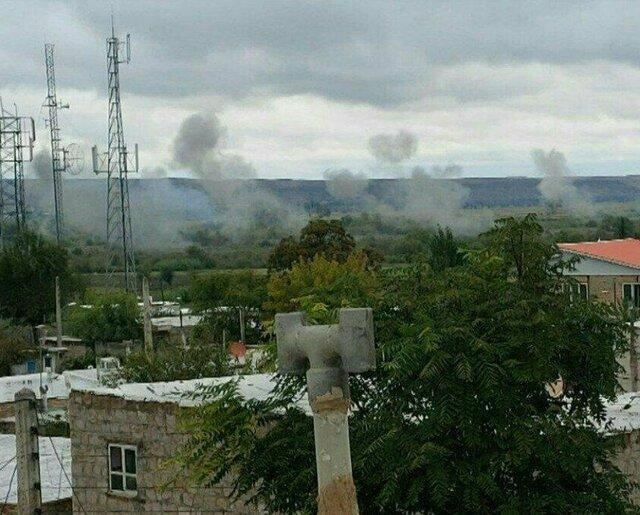 اصابت بیش از 10 گلوله دیگر به اطراف روستاهای خداآفرین