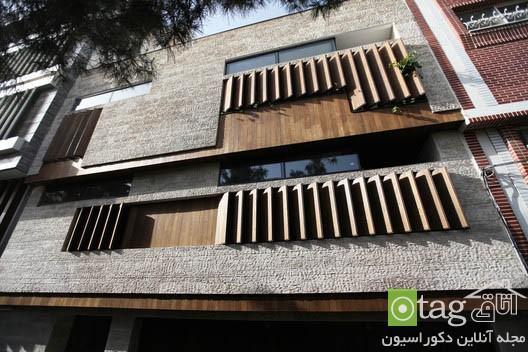 معرفی نمونه ای بسیار زیبا از معماری مدرن ایرانی در ساخت بنا