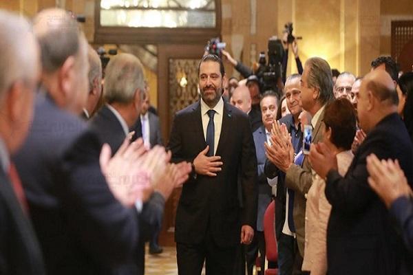 سعد الحریری مأمور به تشکیل کابینه جدید لبنان شد