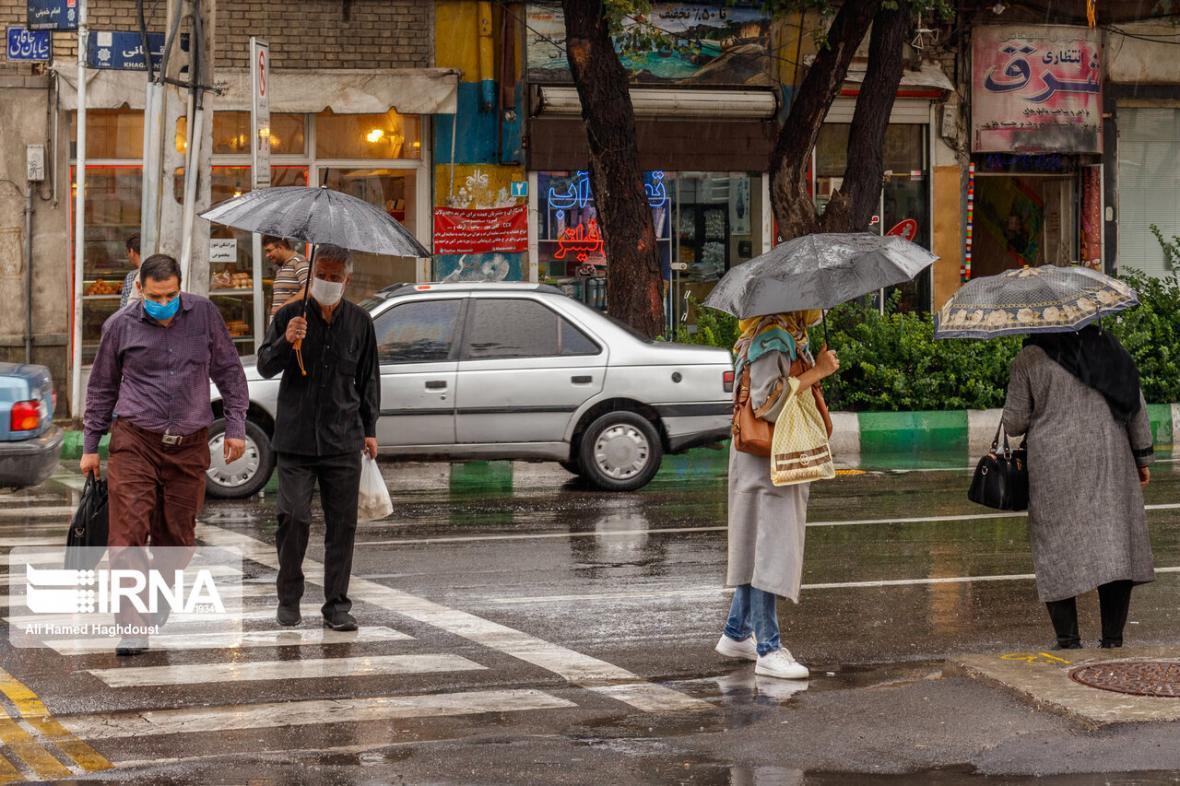 خبرنگاران باران در 10 شهرستان خراسان رضوی بارید