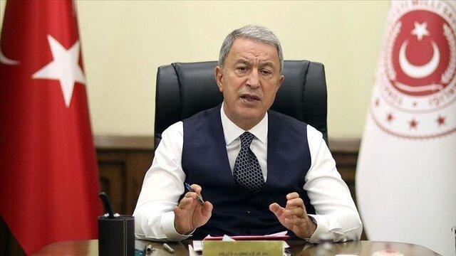 وزیر دفاع ترکیه: عملیات ایرینی از ابتدا اقدامی مفلوج و نادرست بود