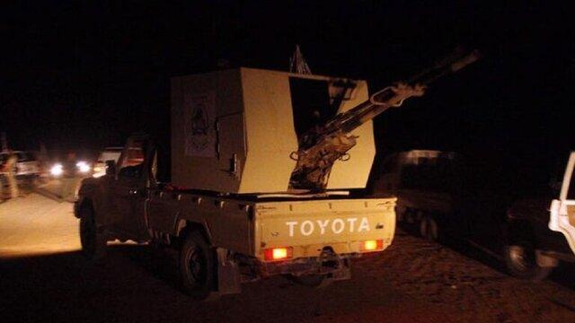 دفع حمله داعش توسط حشد شعبی در استان صلاح الدین