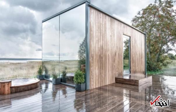 خانه هوشمندی که آیینه ای از مناظر است