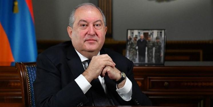 ابتلای رییس جمهور ارمنستان به کرونا در انگلیس