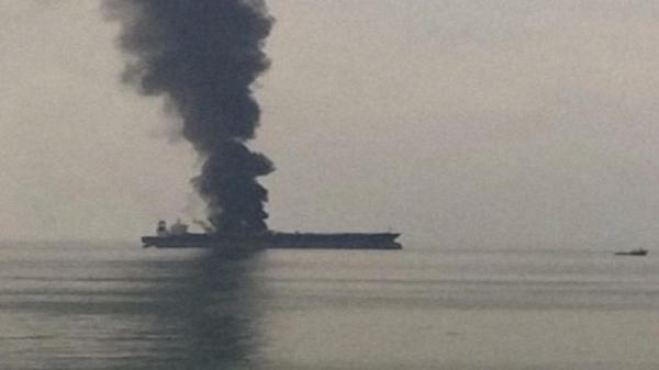 انفجار یک کشتی در نزدیکی سواحل عربستان