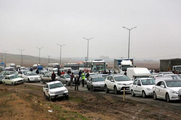 تصادف زنجیره ای 15 خودرو با 7 مصدوم در قزوین
