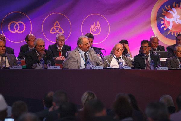 کنفرانس اتحادیه جهانی کشتی در بلگراد برگزار شد