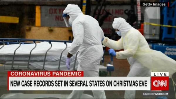 گسترش کرونا در ژانویه سیاه برای آمریکا