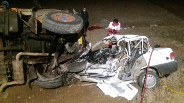 سانحه رانندگی در همدان 3 کشته برجا گذاشت