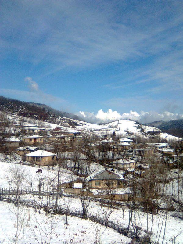 آشنایی با روستای بهمنان سوادکوه با طبیعتی زیبا، عکس