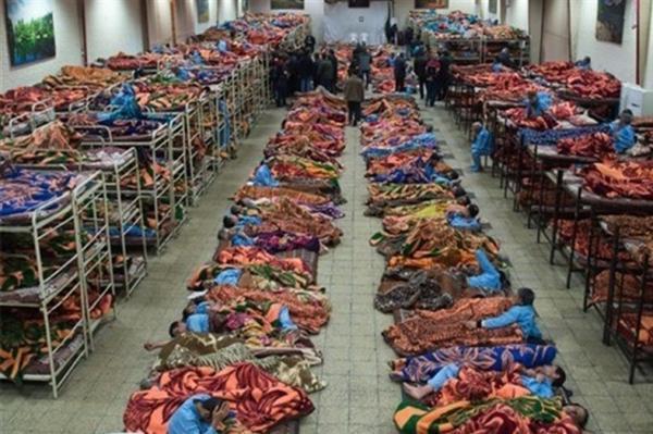 اسکان بیش از 2000 بی خانمان در گرمخانه های تهران