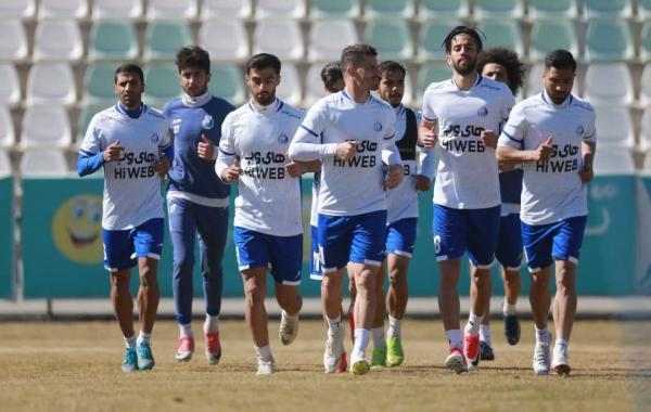 تمرین استقلال باز هم در کمپ تیم های ملی