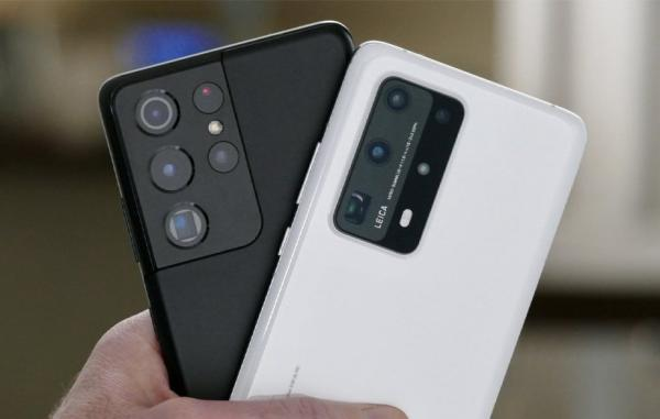 مقایسه دوربین گلکسی S21 اولترا با هواوی P40 پرو پلاس