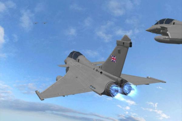 قطر و انگلیس توافقنامه همکاری بین نیروهای هوایی امضا کردند