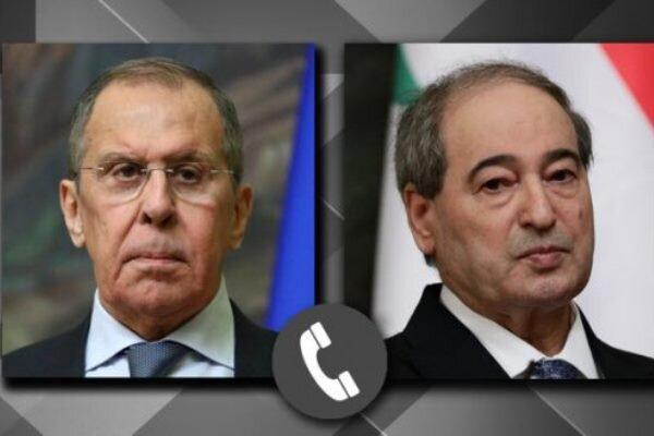 گفتگویسرگئی لاوروف وفیصل مقداد پیرامون حل و فصل مناقشه سوریه