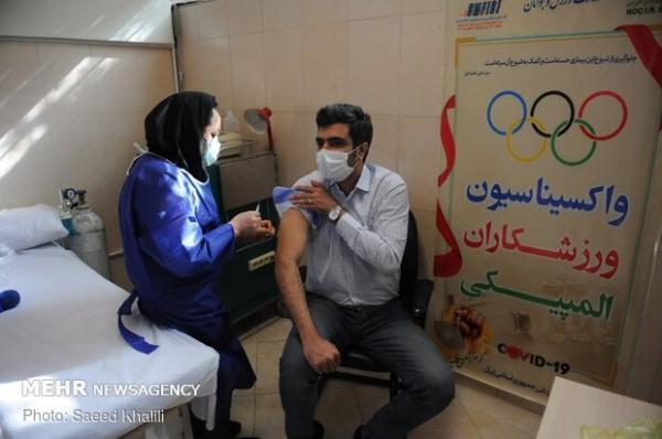 ورزشکاران المپیکی ایران واکسینه شدند، تاکید بر حضور کاروان پاک