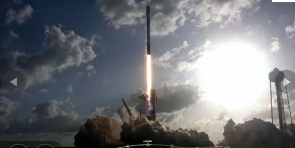 ناوگان جدید استارلینک به همراه دو ماهواره به مدار زمین رفت