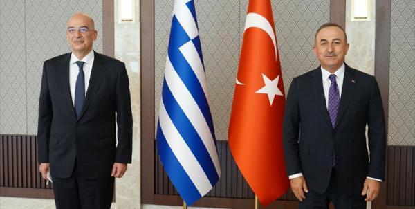 وزرای خارجه ترکیه و یونان بر لزوم کاهش تنش ها تأکید کردند