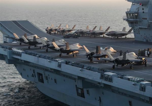 احتمال اعزام ناو هواپیمابر انگلیس به منطقه به بهانه خروج نیرو از افغانستان