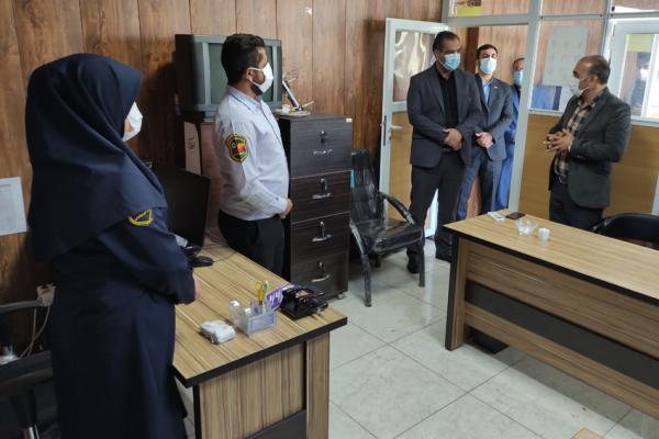 بازدید شهردار قرچک از مرکز اورژانس اجتماعی، اهدا زمین جهت ساخت اورژانس اجتماعی از طریق شهرداری